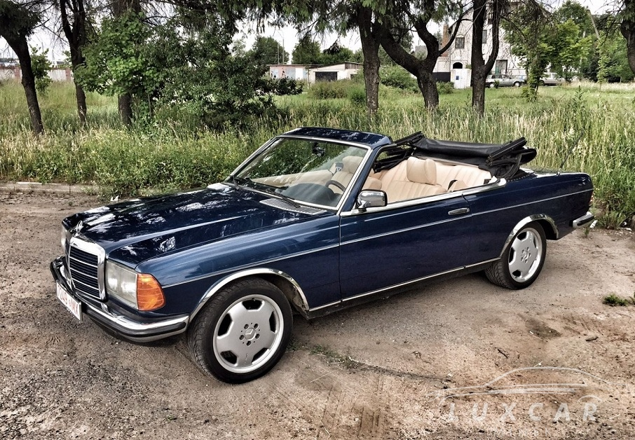 Rent A Vintage Mercedes W123 Convertible With A Driver In Minsk Luxcar