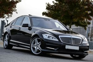 Mercedes S-class W221 AMG restyling