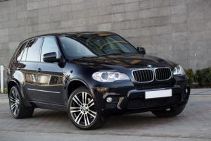 BMW X5 body E70 black